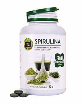 espirulina spirulina natural organica capsulas aquisana