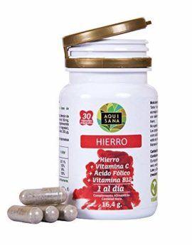 hierro con ácido fólico vitamina C b12 complemento alimenticio suplemento vitaminico comprar oferta opiniones mejores